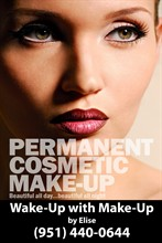 Wake-Up with Make-Up in Temecula
