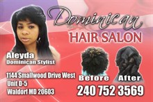 Aleyda's Dominican Hair Styling in Waldorf