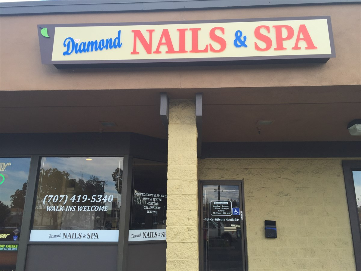 Diamond nails & spa in fairfield, CA 94534 - BeautySeeker.com