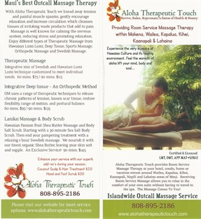 Aloha Therapeutic Touch in Kahului