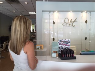 Juliet Salon in Delray Beach
