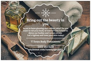 T Town Body Treatments in Tacoma